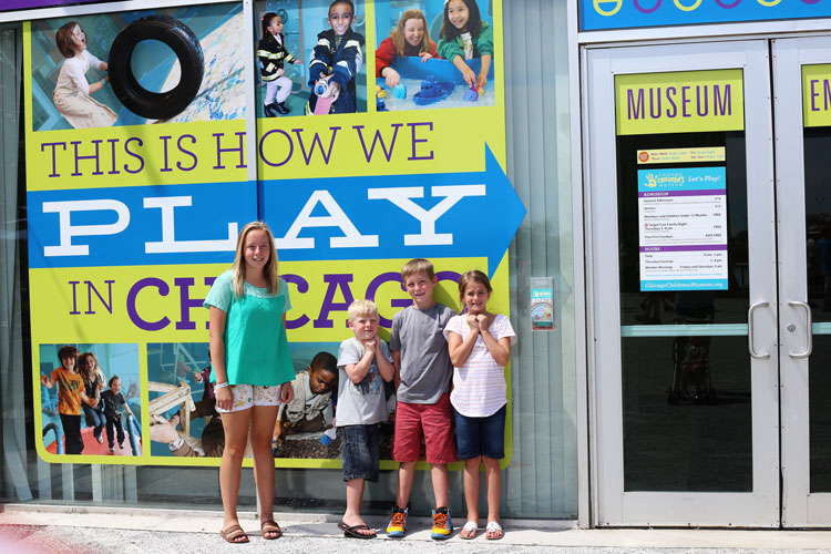 CHildren's museum and other ways to play in Navy Pier Chicago